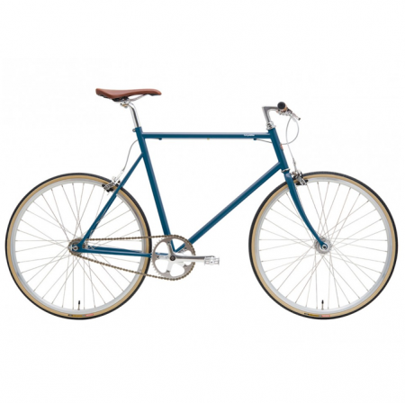 tokyobike single speed blue enamel